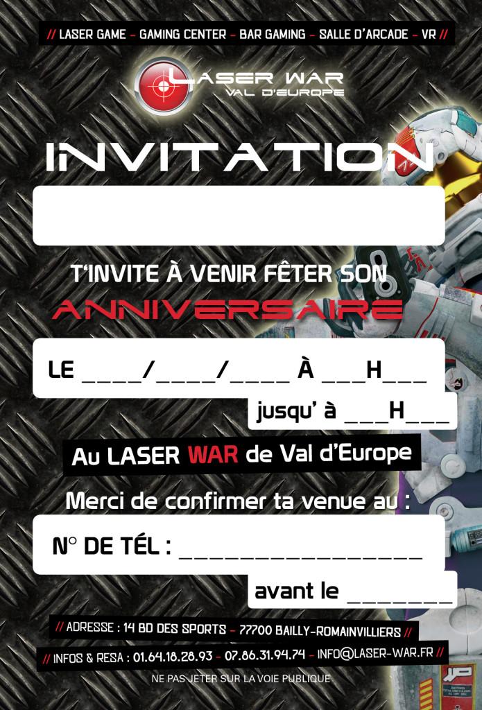 Flyers Invitation Bailly